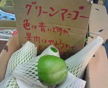 カリフォルニア産グリーンマンゴー