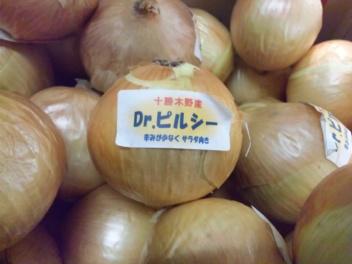 十勝木野産玉ねぎ・ドクターピルシー