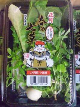熊本産春の七草