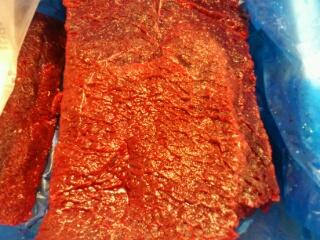 釧路沖ミンク鯨赤肉